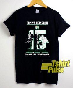 15 Tommy Heinsohn shirt