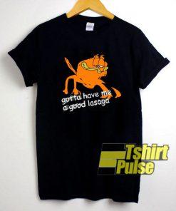 A Good Lasaga shirt