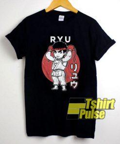 Chibi Ryu Street Fighter shirt