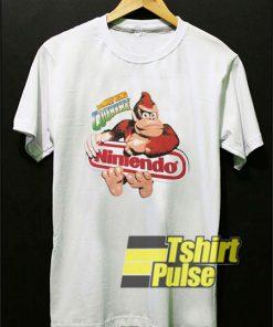 Donkey Kong Country Nintendo shirt