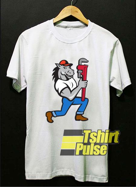 Horse Plumber Kneeling shirt