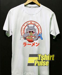 Totoro Eating Ramen shirt
