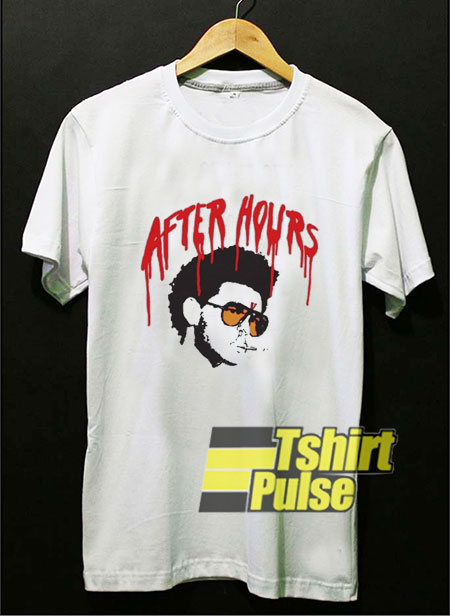 After Hours Drip The Weeknd shirt