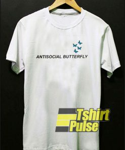 Antisocial Butterfly shirt