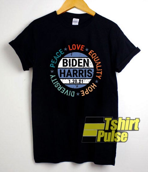 Biden Peace Love Equality shirt