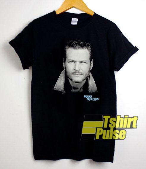Blake Shelton Potrait shirt