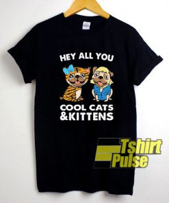 Bulldogs Cool Cats And Kittens shirt