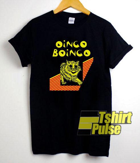 Cat Oingo Boingo shirt