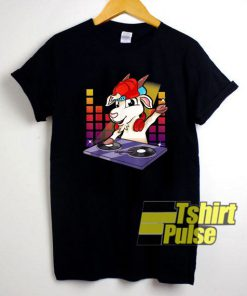 DJ Billy Goat On The Turntables shirt