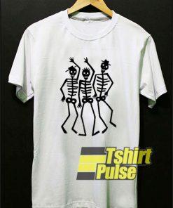 Dancing Skeletons Art shirt
