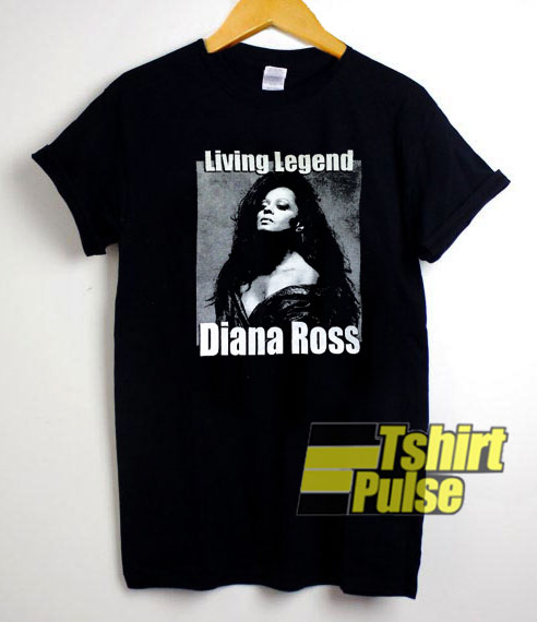 Diana Ross Living Legend shirt