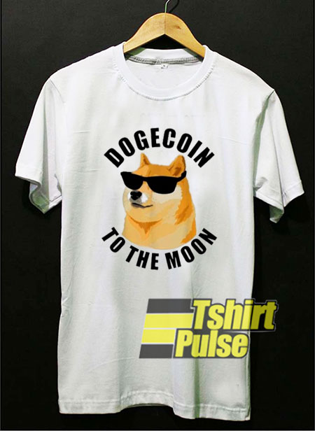 Dogecoin To The Moon Cool shirt