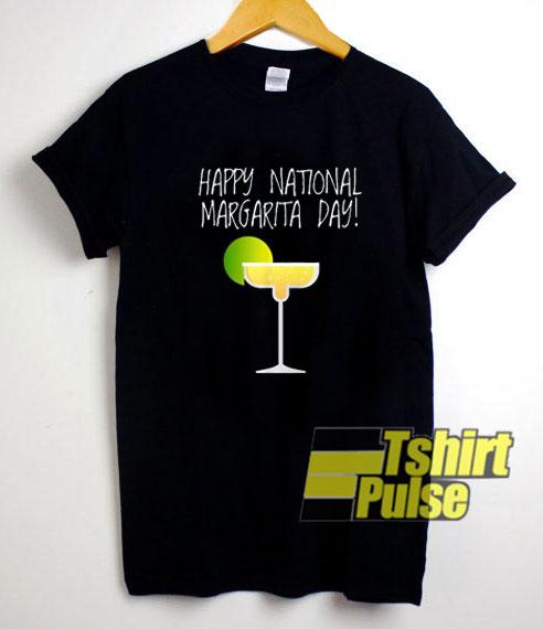 Happy National Margarita Day shirt