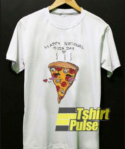 Happy National Pizza Day shirt