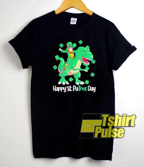 Happy St Patrex Day shirt