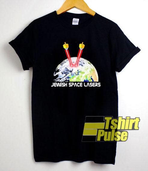 Jewish Space Lasers Art shirt