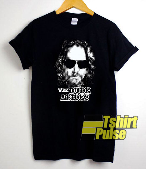 Lebowski The Dude Abides shirt