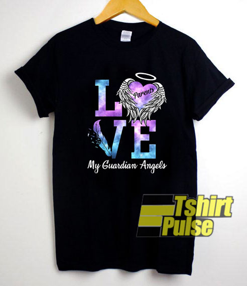Love My Guardian Angel shirt