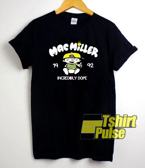 Mac Miller 1992 Incredibly Dope shirt