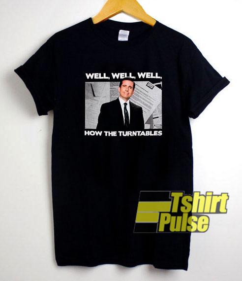 Michael Scott How The Turntables shirt