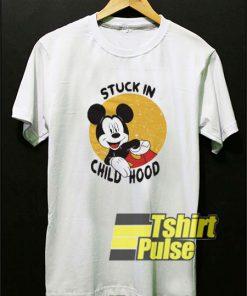Mickey Stuck in Childhood shirt