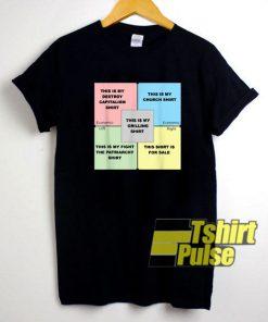 Political Compass Memes shirt