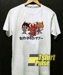 Powerpuff Girls Devil Japanese shirt