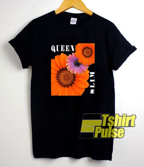 Queen And Slim Flowers shirt