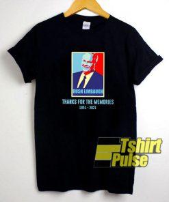 Rush Limbaugh Memories shirt