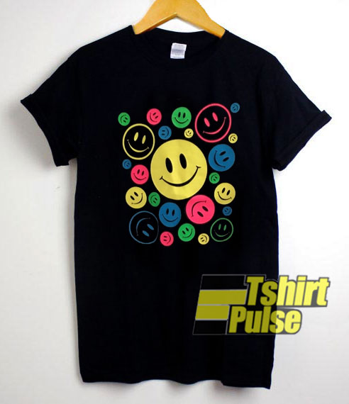 Smiley Face Colours shirt