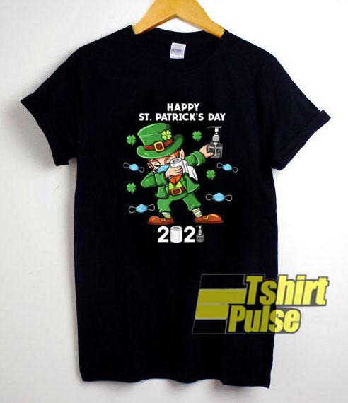 St Patricks Day Dabbing 2021 shirt