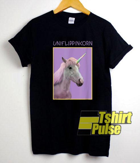 Uniflippincorn Unicorn shirt
