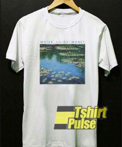 Water Lilies Monet shirt