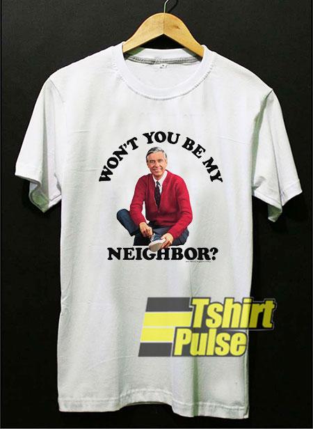 Wont You Be My Neighbor shirt