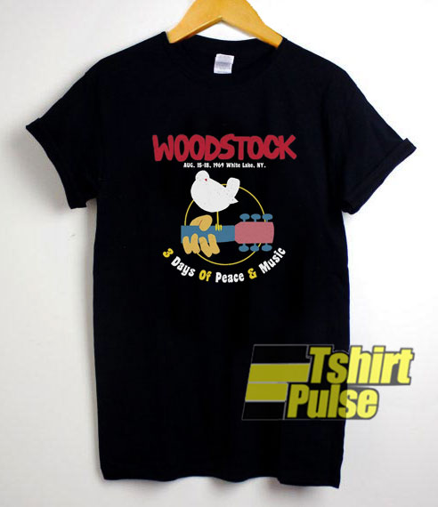 Woodstock Music Festival shirt