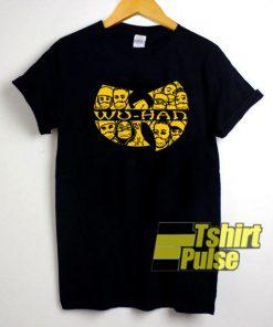 Wuhan Clan Characters shirt