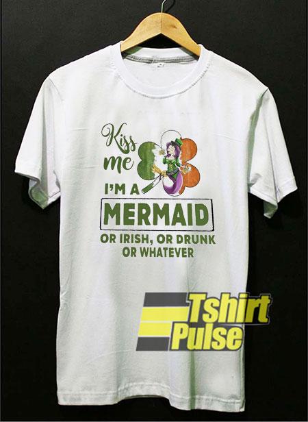 Kiss Me Im a Mermaid shirt