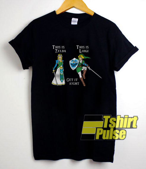 Zelga And Luigi shirt