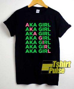 Aka Girl Alpha Kappa shirt