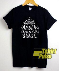Amuck Witch Art shirt