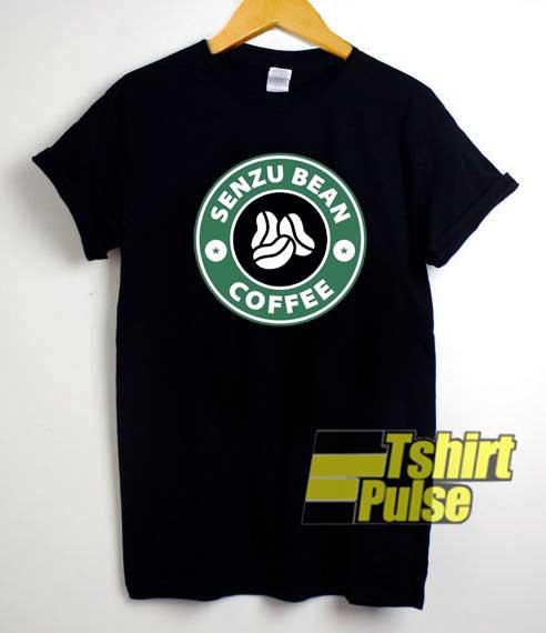 Anime Senzu Bean Coffee shirt