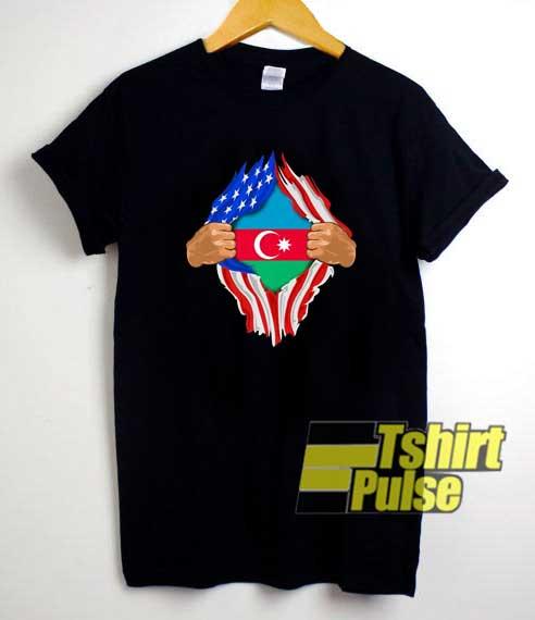 Blood Inside Me Azerbaijan shirt