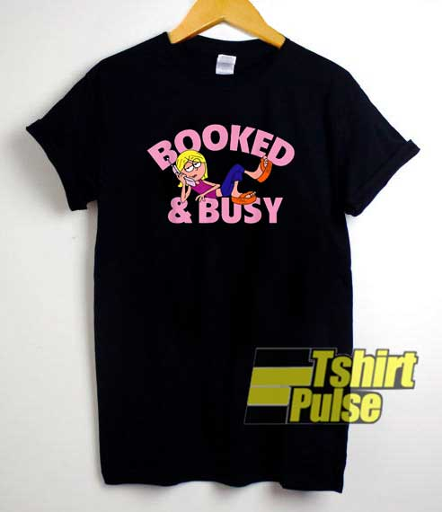 Booked And Busy Lizzie shirt