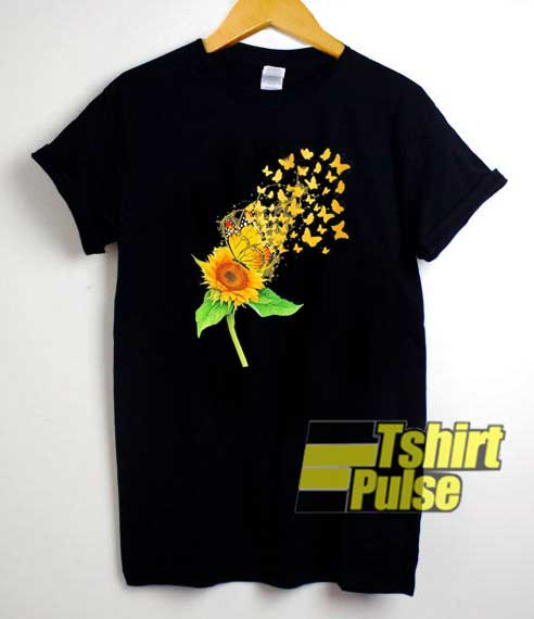 Butterflies Sunflower Parody shirt