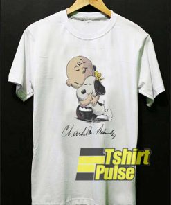 Charlie Hug Snoopy Meme shirt