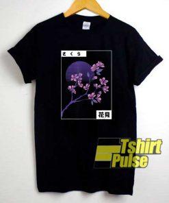 Cherry Blossom Vaporwave shirt
