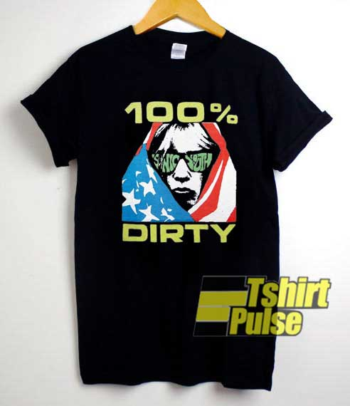 Crazy Sonic Youth 100 Dirty shirt