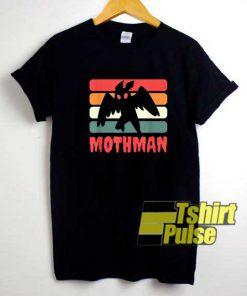 Cryptid Mothman Retro shirt