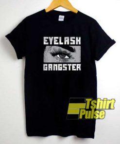 Eyelash Gangster Comic shirt