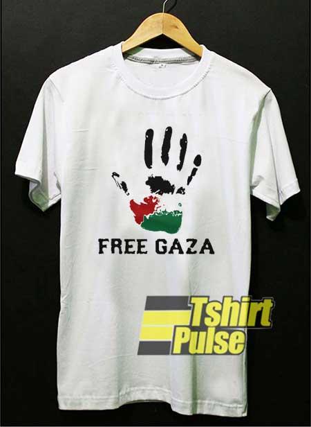 Free Gaza Hand Meme shirt